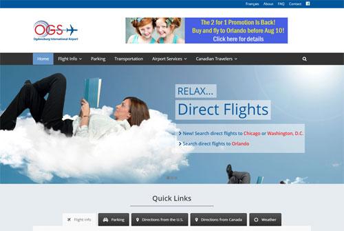 Ogdensburg International Airport website